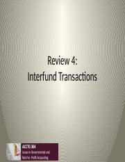 Review4 Interfund Transactions