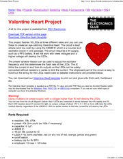 Valentine Heart Project