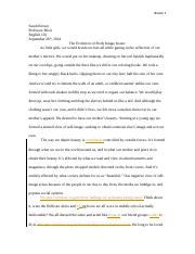 Body Issues Essay