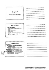 Chapter 4 Student Notes