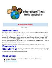 Copy of Copy of 05  MD International Trade Digital Packet