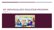 IEP (individualized education program)