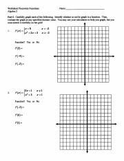 Piecewise Worksheet and Answers.pdf - Worksheet Piecewise ...