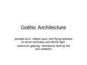 Gothic Study Guide