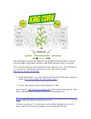 After watching the documentary King Corn.doc