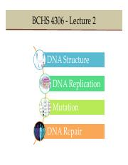 BCHS Lecture 2