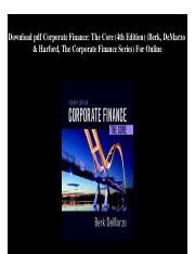 downloadpdfcorporatefinancethecore4theditionberkdemarzoharfordthecorporatefinanceseriesforonline-180