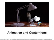 09 - Animations and Quaternions
