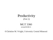 competitiveness, strategy and productivity part 2 old ppt