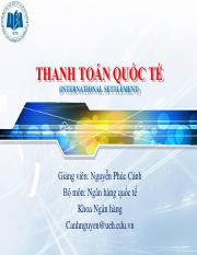 CHUONG 4 - CAC PHUONG THUC THANH TOAN