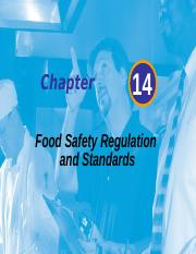 Chapter 14 Food Safety Regulations and Standards -   Hand-outs-2