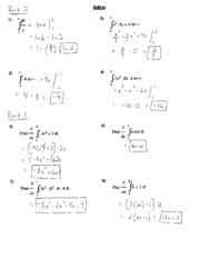Printables Calculus Worksheet fundamental theorem of calculus solutions worksheet