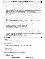 How To Prepare For TOEFL.pdf