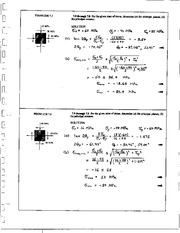 770_Mechanics Homework Mechanics of Materials Solution