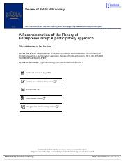 A Reconsideration of the Theory of Entrepreneurship A participatory approach.pdf