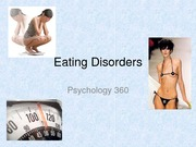 Lecture 14 Eating Disorders