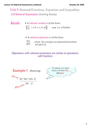 5.0 Lesson_Rational_Fns