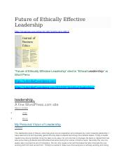 ETHICS-FEEL-cited in Ethical Leadership-Word Press.docx