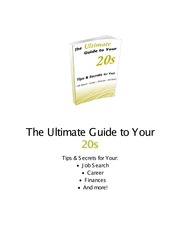 ultimate_guide to ur 20s