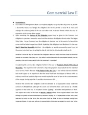 Commercial Law II