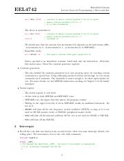 Embedded notes programming, 4