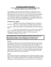 Case Brief #2 Assignment Document SP17