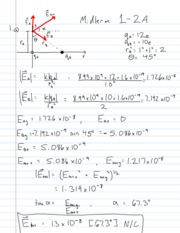 Midterm 1B Solutions