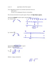 math 9 Lesson 1.2 notes