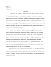 Redaction 2 - French
