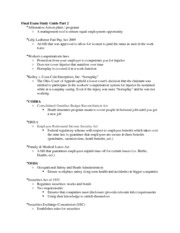 Final Exam Study Guide Part 2 PDF