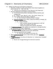 Chem 100 notes - Exam 1.docx