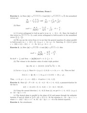 MATH 212 Spring 2012 Midterm 1 Solutions