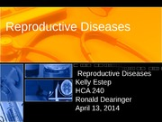 Reproductive Diseases