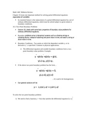 Math 146C Midterm Review
