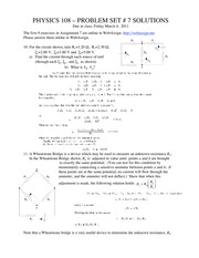 Homework 7 with Solutions
