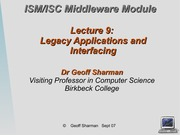 Lecture 9 on servers