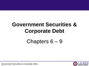 2. Government and Corporate Debt_Ch 6-9