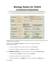 Biology Questions and Answers Form 2 docx - Biology Questions and