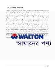 assignment on Walton