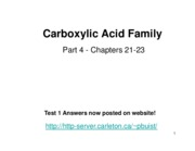 2009 Carboxylic Acid Family IV