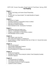 HDFS 240 Study Guide final