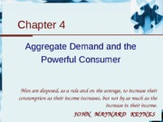 4.Aggregate Demand and the Powerful Consumer