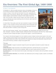 Era Overview - The First Global Age, 1400-1800 - Student Text.pdf