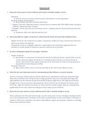 Study Guide & Answers III