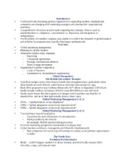 International Marketing Chapter 12 Notes