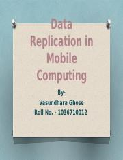 Data Replication in Mobile Computing.pptx