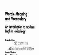 Jackson_and_Amvela_Ch 1 pdf - Words Meaning and Vocabulary