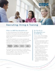 COPC Inc. Brochure_ Benchmark Review for Recruiting_ Hiring_ Training