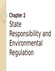 Chapter 2 - State Responsibility
