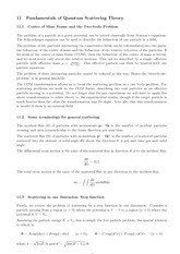 Lecture 11 on Fundamentals of Quantum Scattering Theory